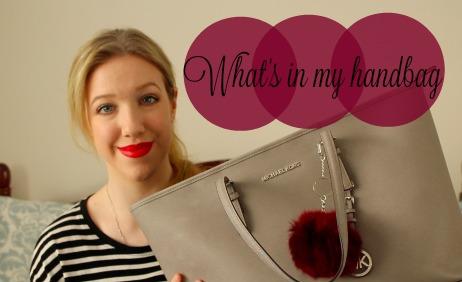 What's in my Handbag? // VIDEO